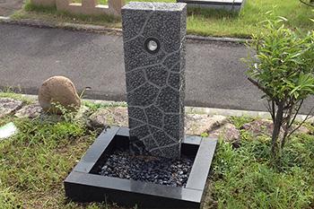 石の立水栓