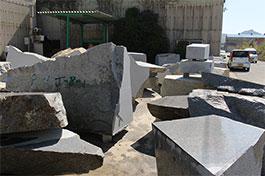 庵治石の採石丁場イメージ2